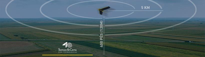 Saiba o que é a certificação da ANAC para voos BVLOS com drones