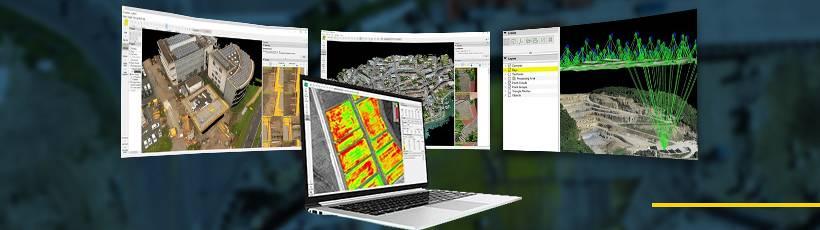 Diferenças entre os Softwares de Processamento de Imagens Pix4D