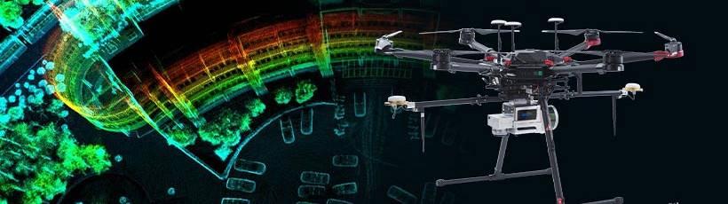 Tecnologia SLAM e Laser Scanner Aerotransportado