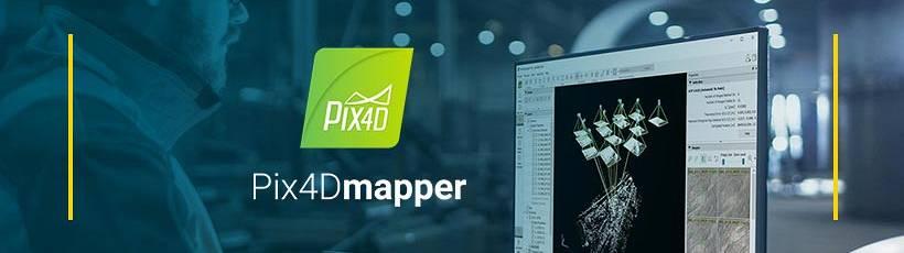 Pix4Dmapper: fotogrametria para mapeamento com drones
