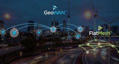 Plataforma FlatMesh™ e GeoWan™